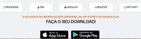 site oficial detran Goiás