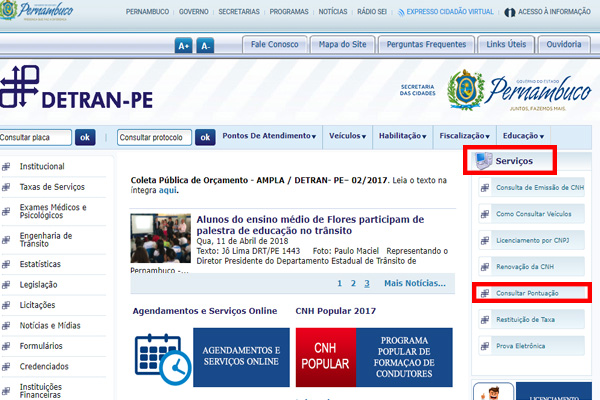 Consulta de multas Detran PE 2018: como realizar o procedimento