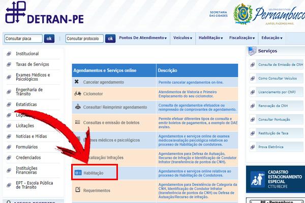CNH PE 2018 – Como Tirar 1ª Habilitação, Consulta de Pontos e mais.