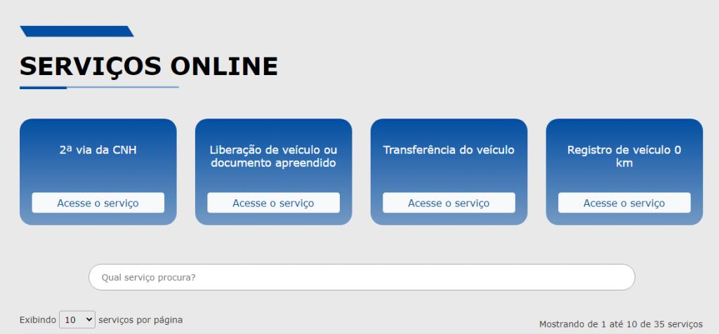 Detran SP - IPVA, Licenciamento, Renavam. detran.sp.gov.br