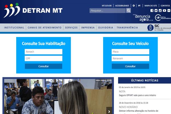 Detran MT - IPVA, Renavam, DPVAT - detran.mt.gov.br