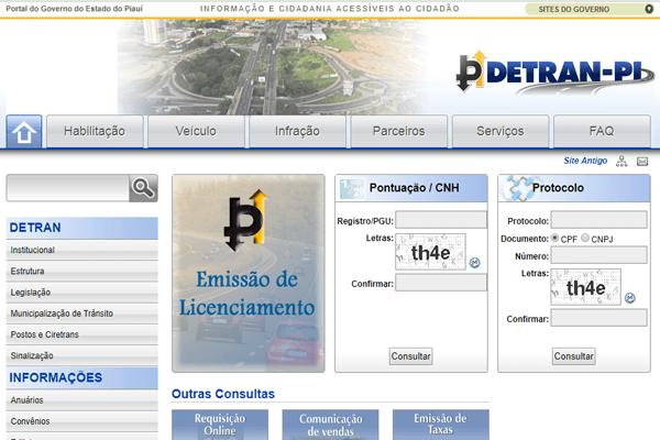 Detran PI - IPVA, Renavam, DPVAT - detran.pi.gov.br