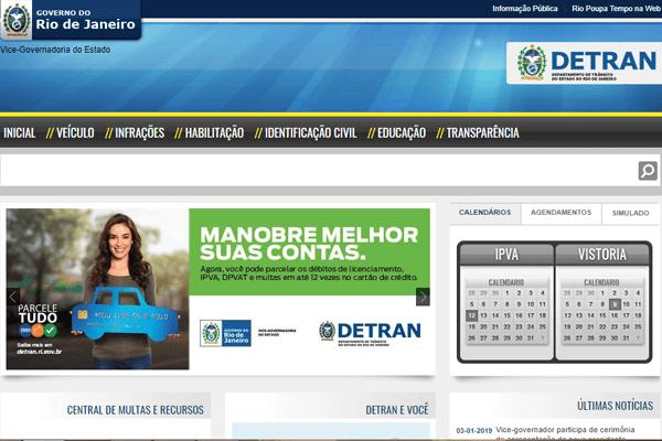 Detran RJ - IPVA, Renavam, DPVAT - detran.rj.gov.br