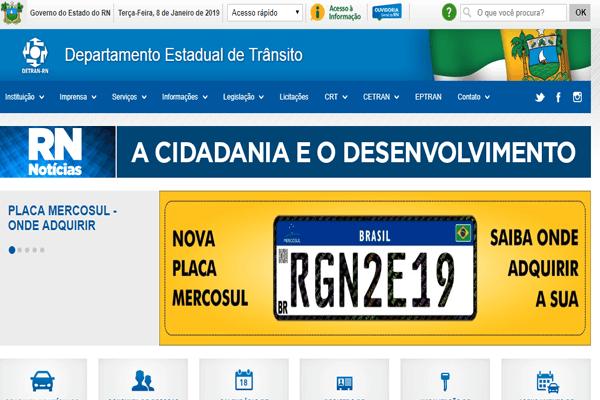 Detran RN - IPVA, Renavam, DPVAT - detran.rn.gov.br