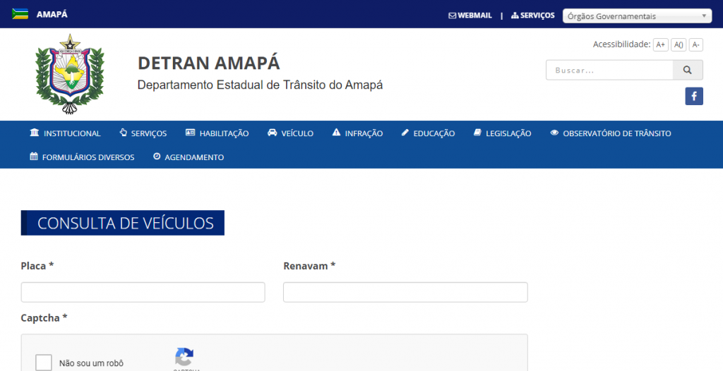 Consulta do IPVA Detran AP - 2ª via de boleto
