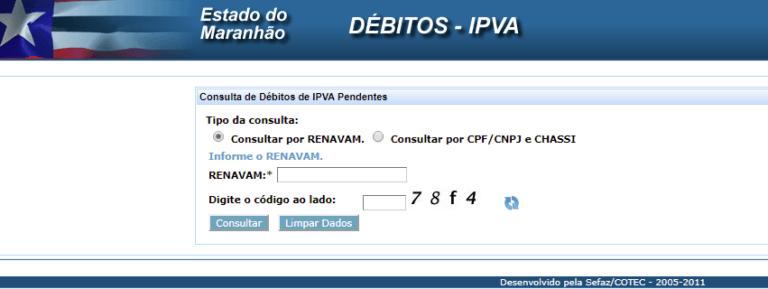IPVA Maranhão 2021