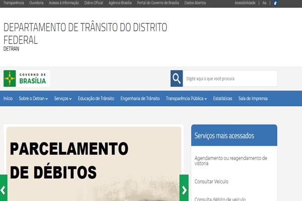 Detran DF - IPVA, Renavam, DPVAT - detran.df.gov.br