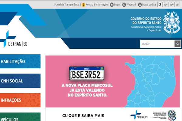 Detran ES - IPVA, Renavam, DPVAT - detran.es.gov.br